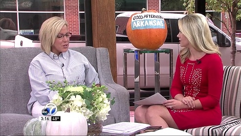 Dr Elizabeth talks about #MeToo on Good Afternoon Arkansas - KATV